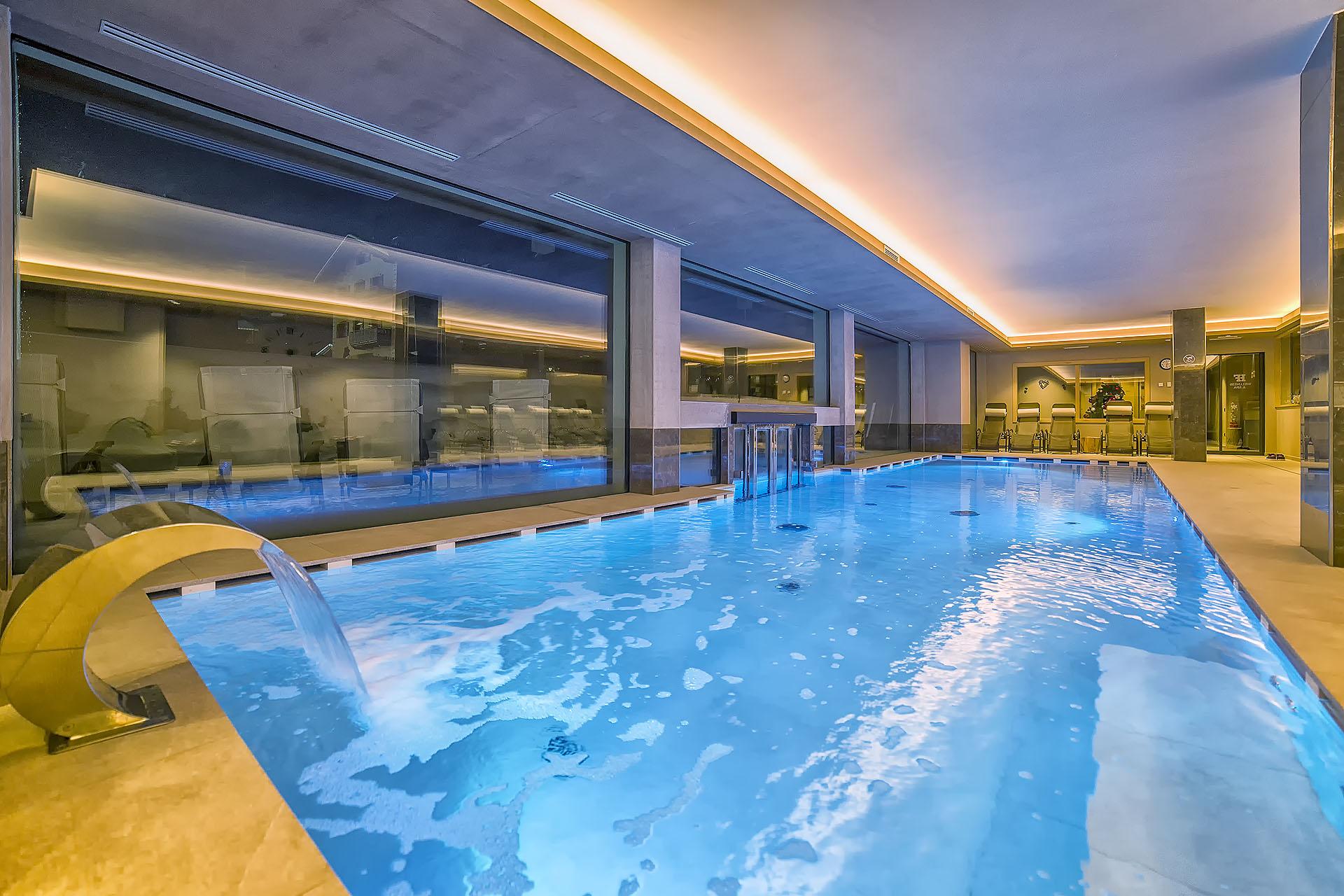 INDOOR POOL<br /> ACTIVE HOTEL FRANCESIN - LIVIGNO
