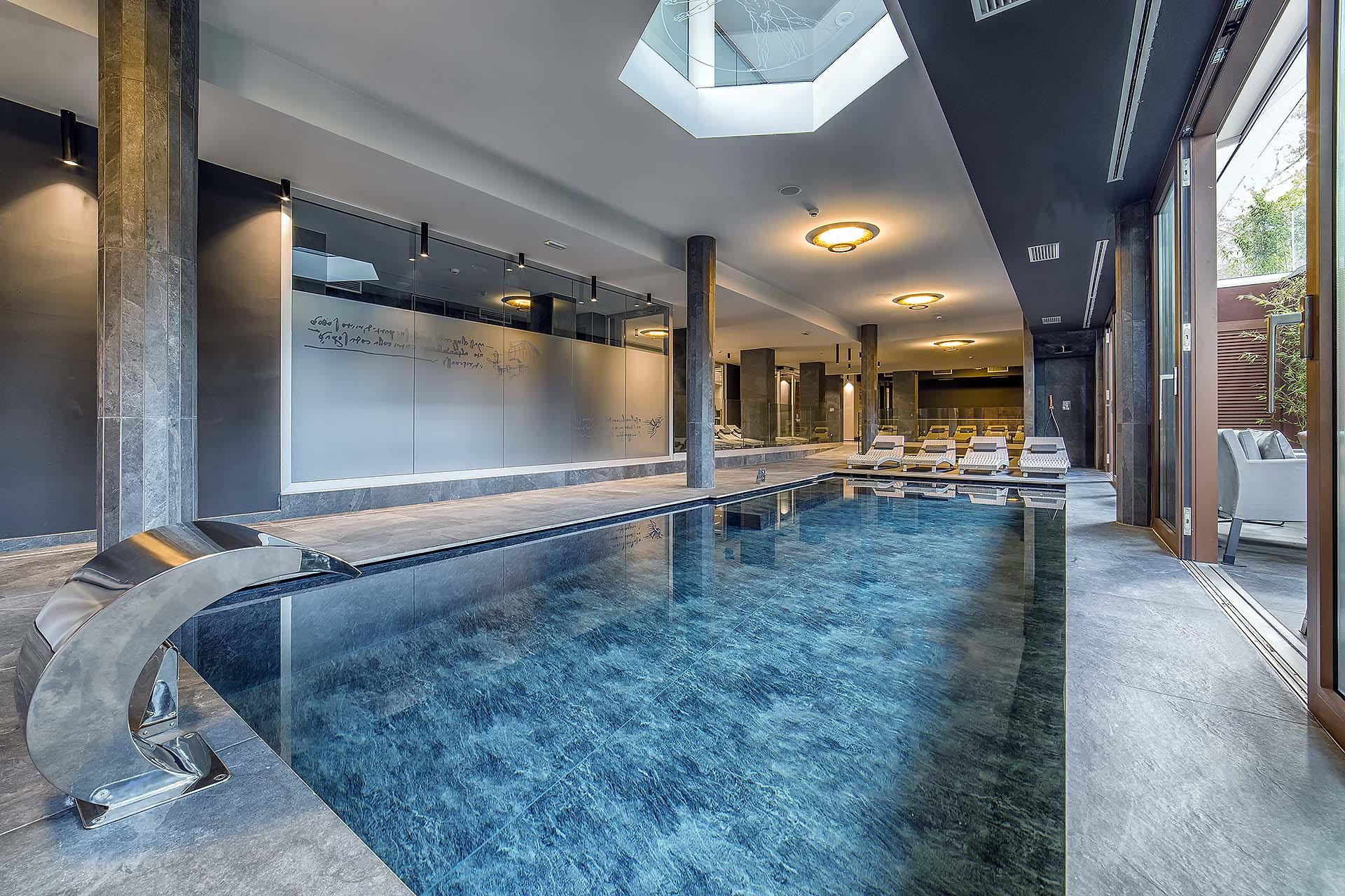 ADULT POOL <br> HOTEL LEONARDO DA VINCI - BIBIONE (VE)