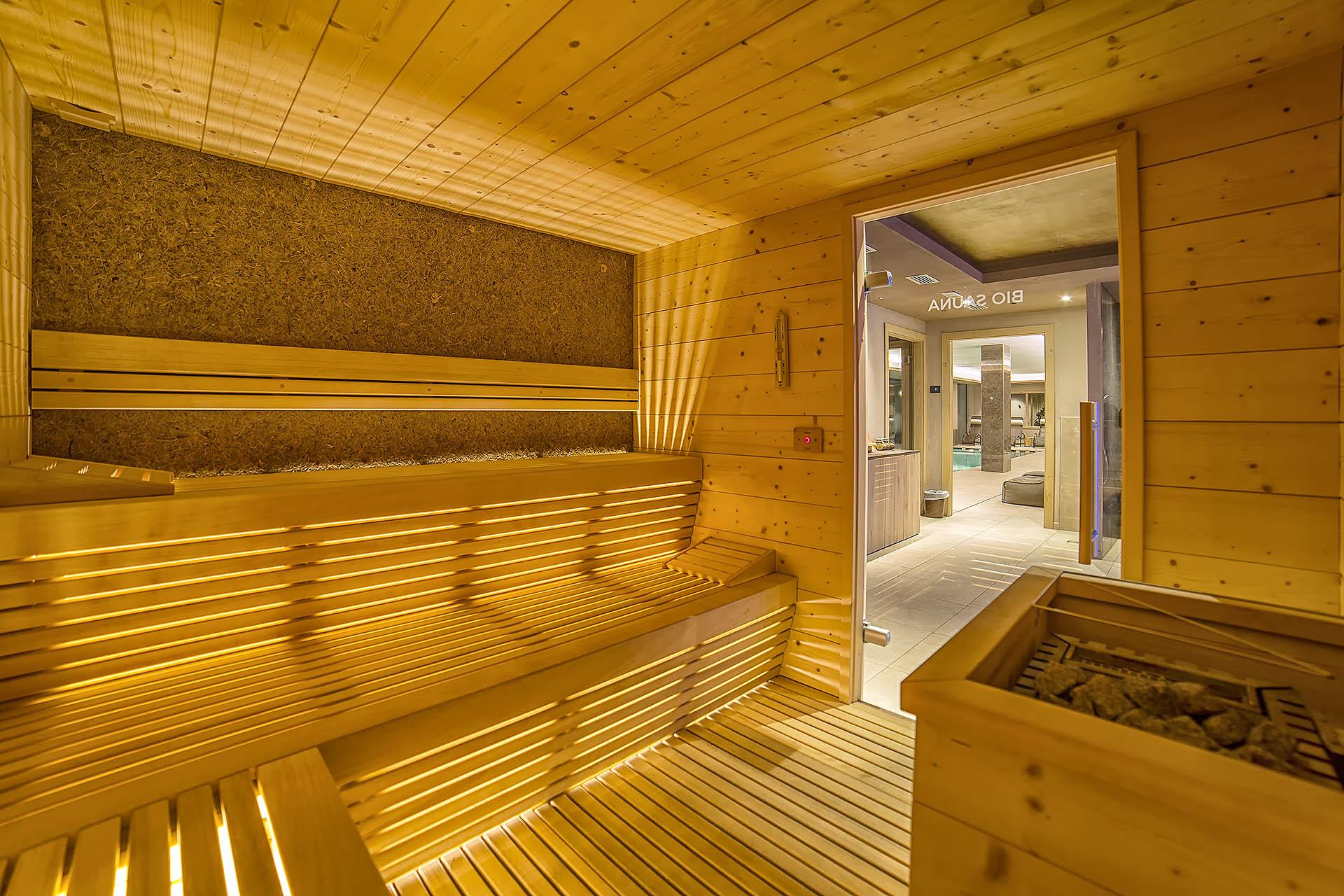BIO SAUNA <br> ACTIVE HOTEL FRANCESIN - LIVIGNO