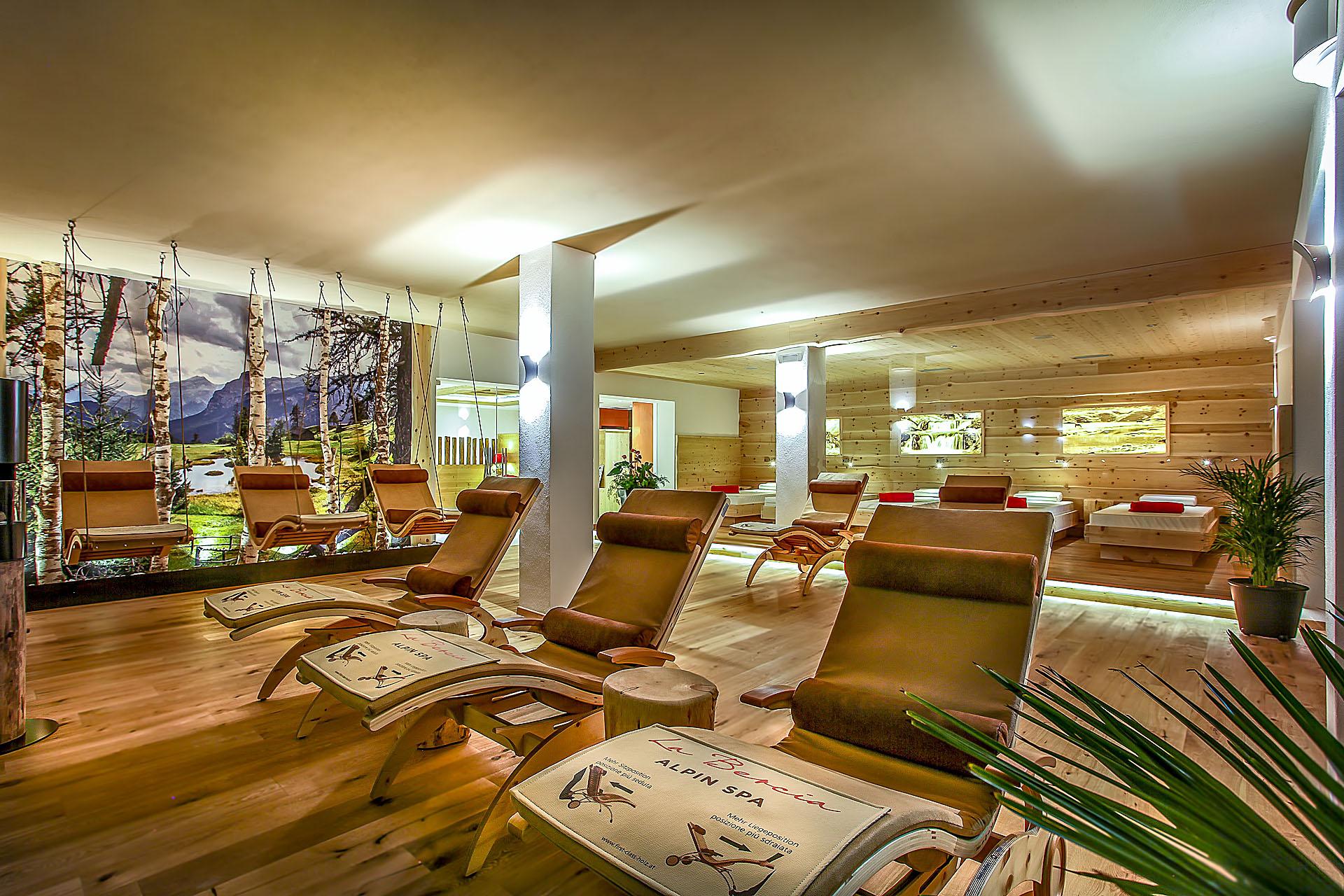 RELAX AREA <br> HOTEL LA BERCIA - LA VILLA