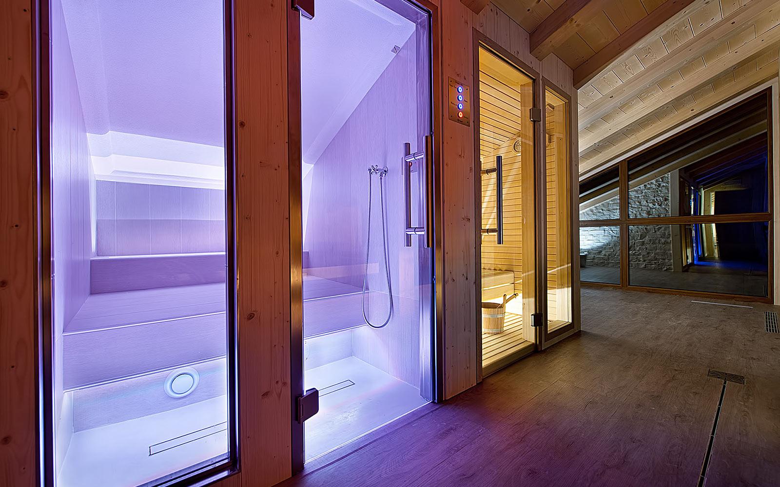 PRIVATE SPA<br>HOTEL AL BIVIO - LIVIGNO