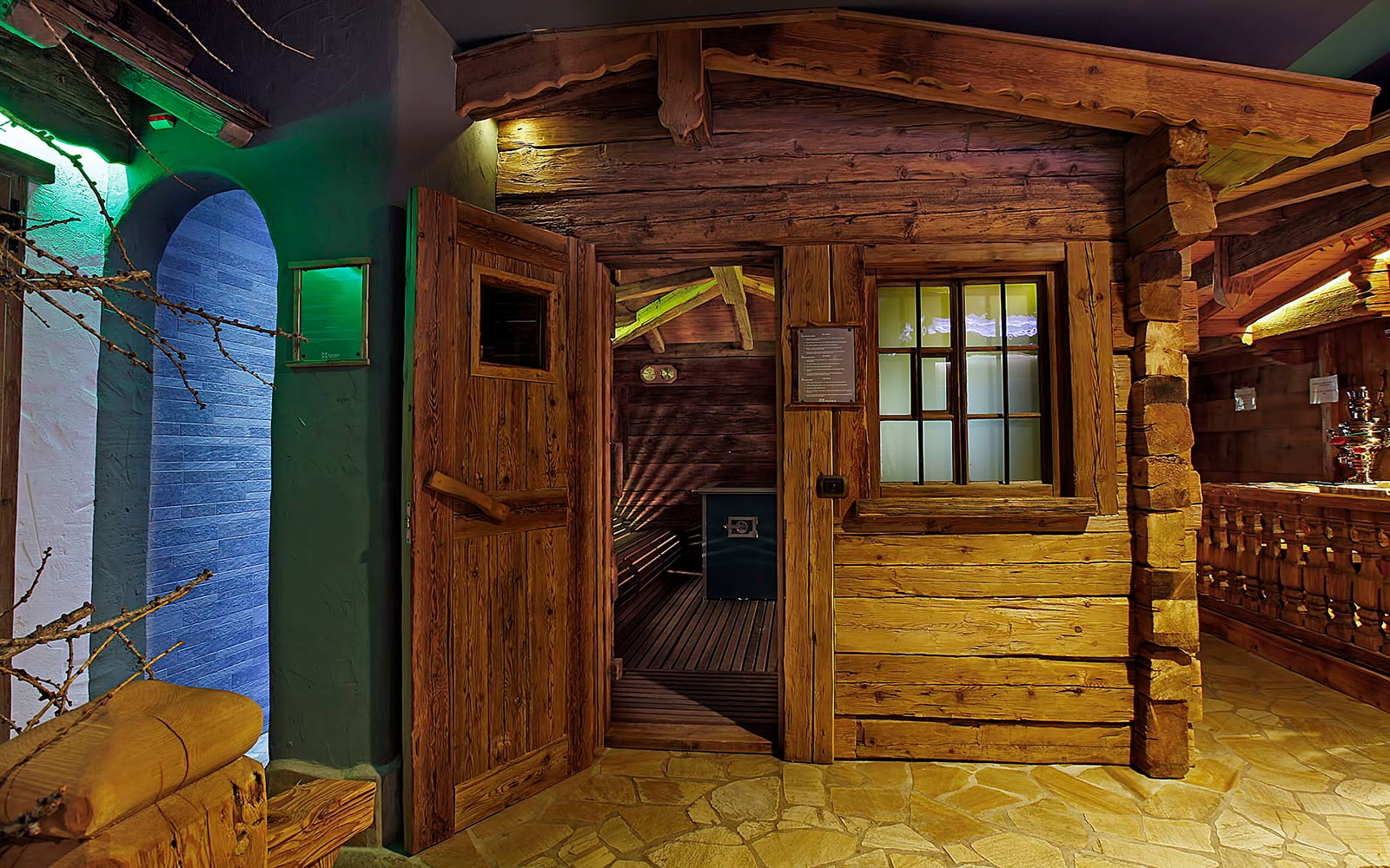 FINNISH SAUNA<br>HOTEL ARNIKA - SAN PELLEGRINO