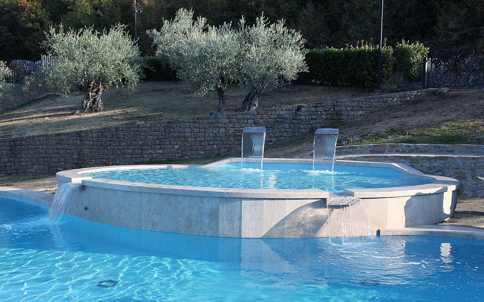 OUTSIDE POOL <br> CASINÒ HOTEL MULINO - CROAZIA