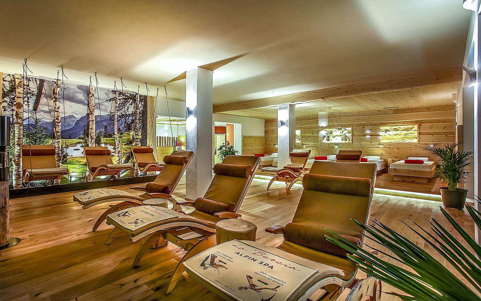 RELAX AREA<br>HOTEL LA BERCIA - LA VILLA