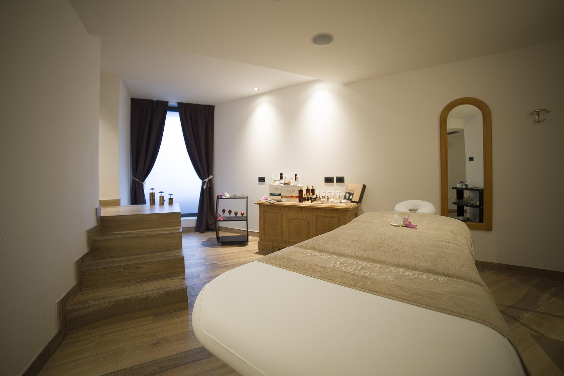BEAUTY TREATMENTS <br>HOTEL MAJARE' - POZZA DI FASSA
